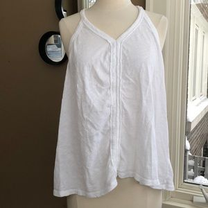 Anthropologie Pure + Good simple white top